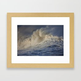 Rough Seas Framed Art Print