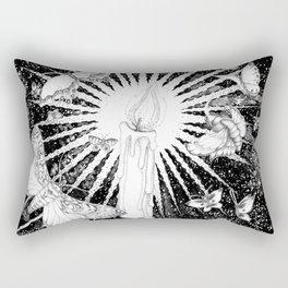 Dance of the Moths Rectangular Pillow