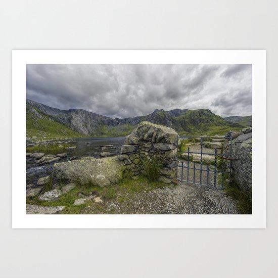 Gate To The Lake Art Print