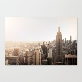 Empire Love Canvas Print