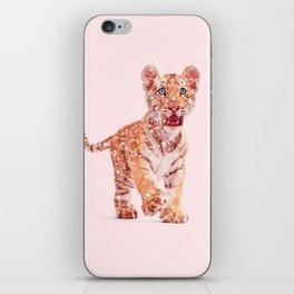 GLITTER TIGER iPhone Skin