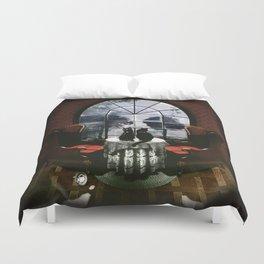Room Skull Duvet Cover