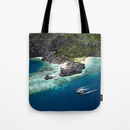 Island hopping around the Philippine Islands Tote Bag