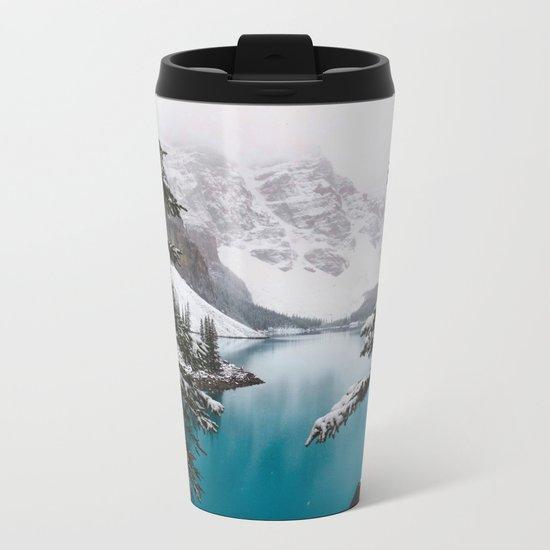 Moraine Lake Metal Travel Mug