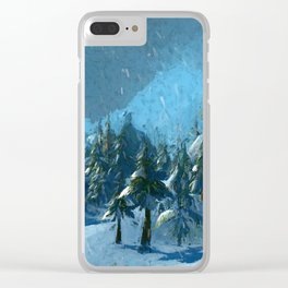 Winterspring Clear iPhone Case