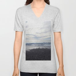 Rodeo Beach with Killer Clouds Unisex V-Neck
