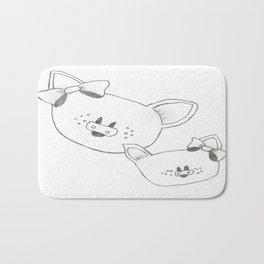 Piggies Bath Mat