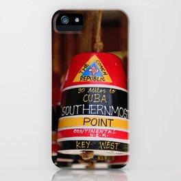 Key West Icon iPhone Case