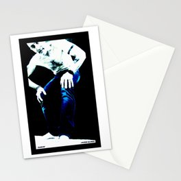 Marino: Blue Jeans by James Glines Stationery Cards