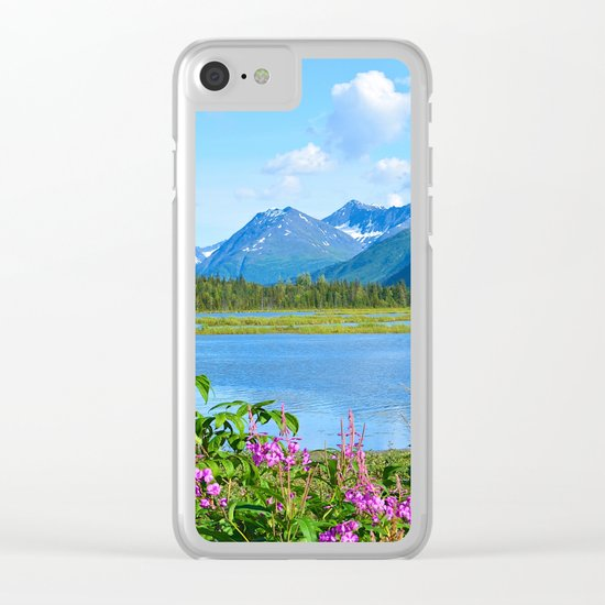 God's Country - II Clear iPhone Case