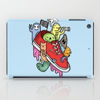 pirates iPad Cases featuring shoe pirates by ybalasiano