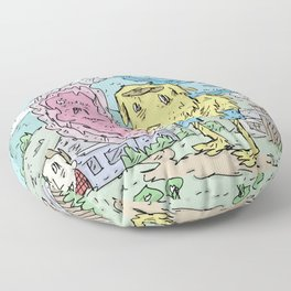 Momentary Vision Floor Pillow