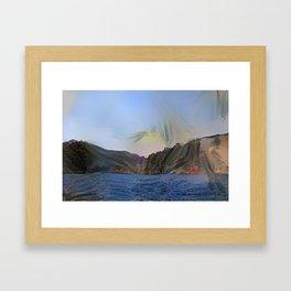 Fuji Invisible Framed Art Print