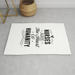 Nurses Are The Heart of Humanity Rug