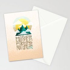 Mother Fucking Nature Stationery Cards