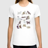 kittens T-shirts featuring Little Kittens by Yuliya