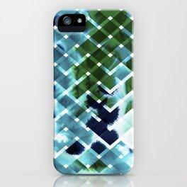 River in deciduous wood iPhone Case