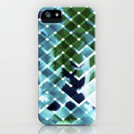 River in deciduous wood iPhone Case