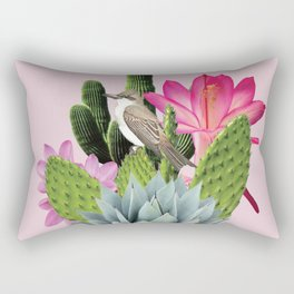 Cactus Lady Rectangular Pillow
