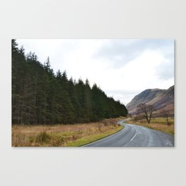 Through the Highlands Canvas Print