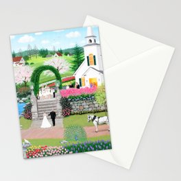 A Walk with My Father Stationery Cards
