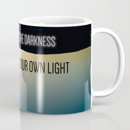 However vast the the Darkness quote Coffee Mug