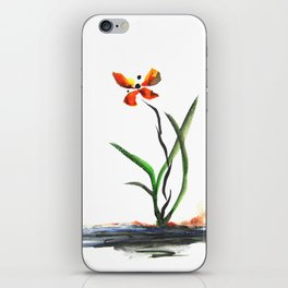 Butterfly Orchid iPhone Skin
