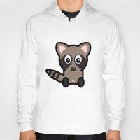 raccoon Hoodies featuring Raccoon by mrninja13