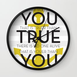 Youer Than You Wall Clock