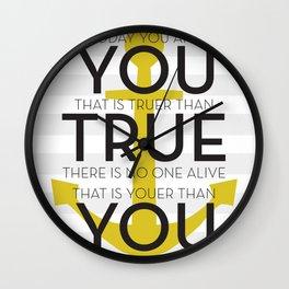 Youer Than You Wall Clock