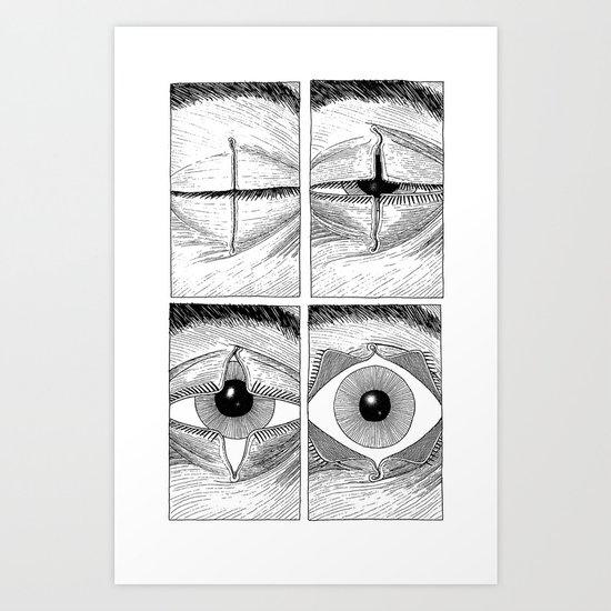 Subject Alpha Art Print