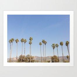 On California Time Art Print