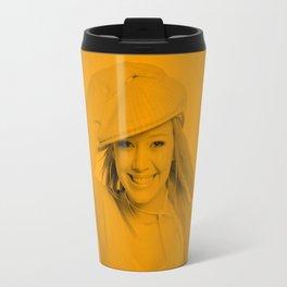 Hilary Duff - Celebrity Travel Mug