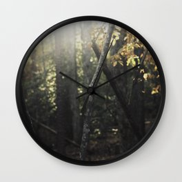Forest 001 Wall Clock
