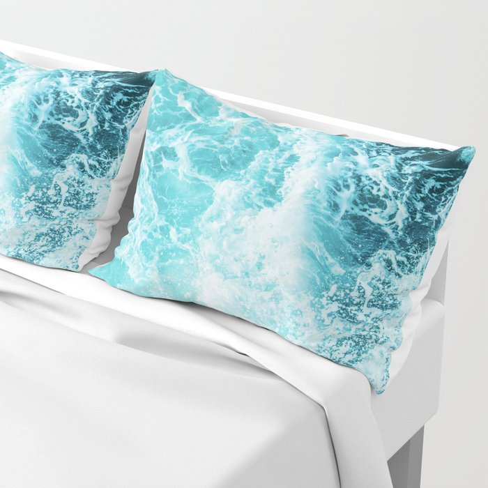 Perfect Sea Waves Pillow Sham