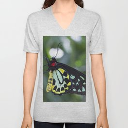 Cairns Birdwing Butterfly Unisex V-Neck