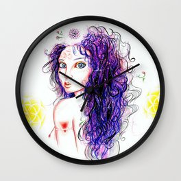 Eve Wall Clock