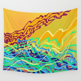 Coastal Frequencies 2 Wall Tapestry