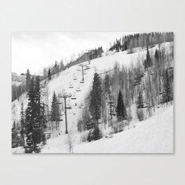 Chair Lifts at Vail Colorado Canvas Print