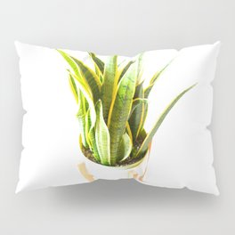 all day California Vegetation Plant Pillow Sham