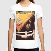 volkswagon T-shirts featuring Volkswagon Van by Alexandra Kube
