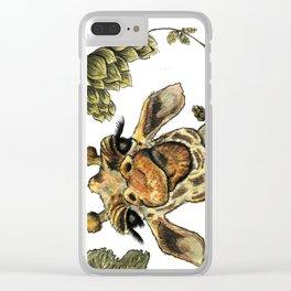 Sour Hops Clear iPhone Case