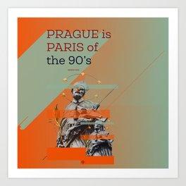 Prague is #everyweek 9.2017 Art Print