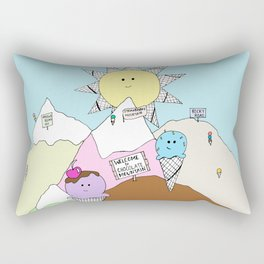 ice cream land Rectangular Pillow