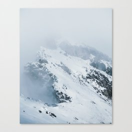 Old Mountain - Minimalist Landscape Photography Canvas Print