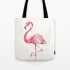 A Flamingos Fancy Tote Bag