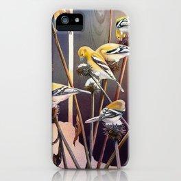 Goldfinch Jackpot iPhone Case