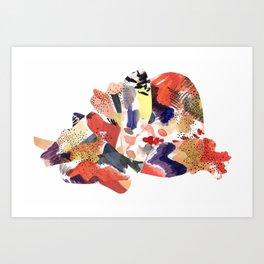 en la espesura Art Print