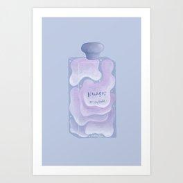 Nuages en captivité Art Print