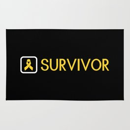 Childhood Cancer Survivor Rug